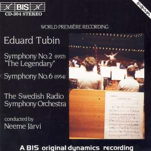 Tubin: Symphonies Nos. 2 & 6
