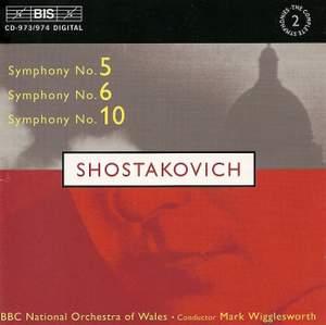 Shostakovich: Symphony No. 5 in D minor, Op. 47, etc.