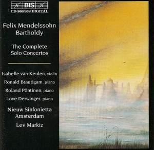 Mendelssohn - The Complete Solo Concertos