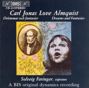 Almquist - Songs, lyrics, prose, piano & choral pieces