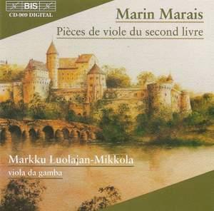 Marais - Pièces de viole du second livre Product Image
