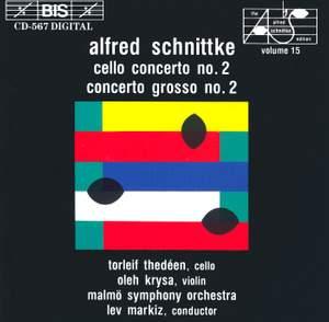 Schnittke: Cello Concerto No. 2 & Concerto grosso No. 2