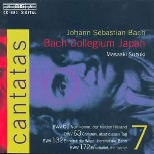 Bach - Cantatas Volume 7