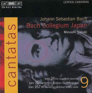 Bach - Cantatas Volume 9 Product Image