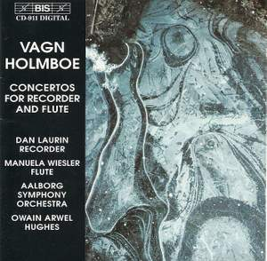 Vagn Holmboe - Concertos for Recorder and Flute