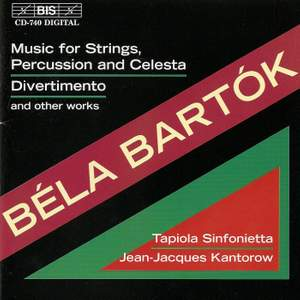 Bartók: Music for Strings, Percussion & Celesta, Divertimento & other works
