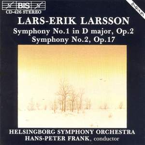 Larsson: Symphonies Nos. 1 & 2