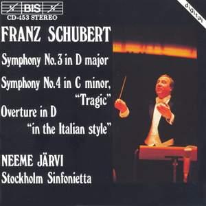 Schubert: Symphony No. 3 in D major, D200, etc.