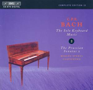 C P E Bach - Solo Keyboard Music Volume 2