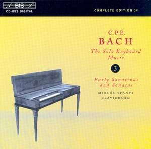 C P E Bach - Solo Keyboard Music Volume 3