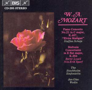 Mozart: Piano Concerto No. 21 & Sinfonia Concertante