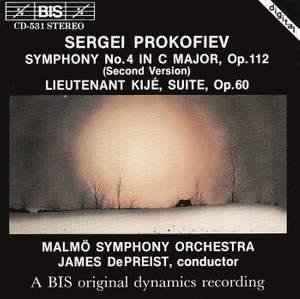 Prokofiev: Symphony No. 4 & Lieutenant Kijé Suite Product Image
