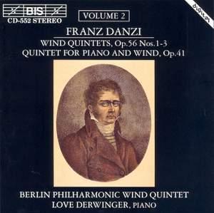 Danzi - Wind Quintets, Volume 2