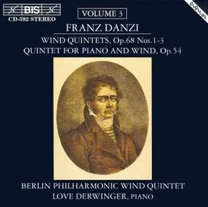 Danzi - Wind Quintets, Volume 3