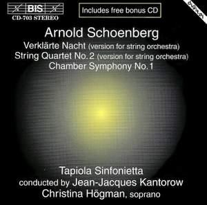 Schoenberg: Verklärte Nacht, Op. 4, etc. Product Image