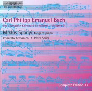 C P E Bach - Complete Keyboard Concertos, Volume 9