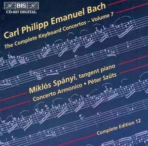 C P E Bach - Complete Keyboard Concertos, Volume 7
