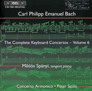 C P E Bach - Complete Keyboard Concertos, Volume 6