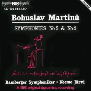 Martinu - Symphonies