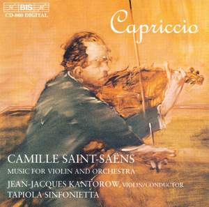 Capriccio - Music for Violin & Orchestra by Camille Saint-Saëns