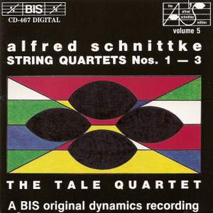 Schnittke - String Quartets Nos. 1, 2 & 3