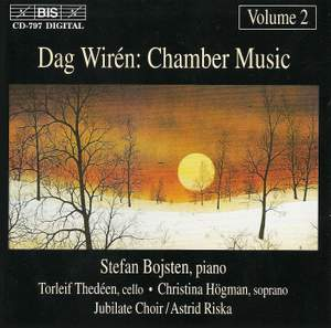 Dag Wirén - Chamber Music, Volume 2 Product Image