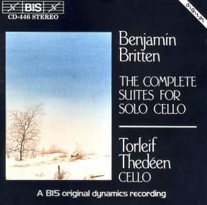 Britten - The Complete Suites for Solo Cello