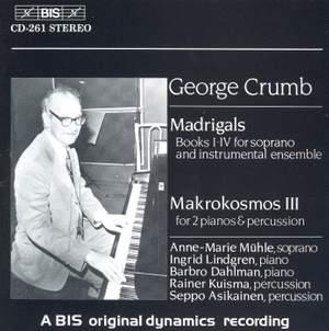 George Crumb - Madrigals
