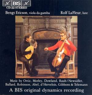 Music for Lute and Viola da Gamba Product Image