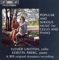 Popular and Serious Music for Cello and Piano