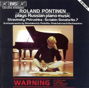 Roland Pöntinen plays Russian Piano Music