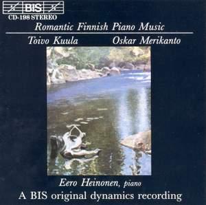 Romantic Finnish Piano Music Product Image