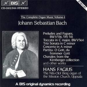 J.S. Bach - Complete Organ Music, Volume 4