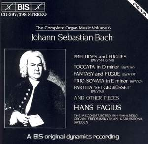 J.S. Bach - Complete Organ Music, Volume 6 Product Image