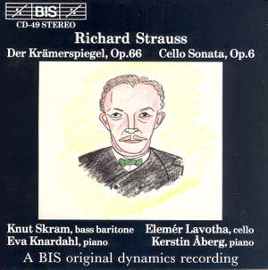Strauss: Cello Sonata & Der Krämerspiegel