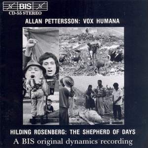 Pettersson: Vox Humana & Rosenberg: Dagdrivaren