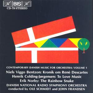 Contemporary Danish Music for Orchestra, Volume 1