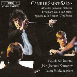 Saint-Saëns: Africa, Symphony No. 2 & Symphonie en fa Urbs Roma Product Image