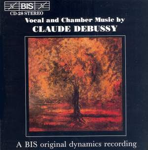 Vocal and Chamber Music by Claude Debussy