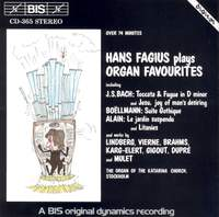 Hans Fagius plays Organ Favourites