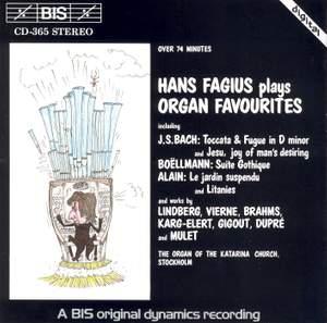 Hans Fagius plays Organ Favourites Product Image