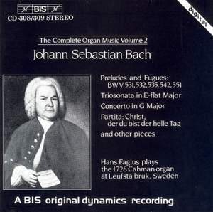 J.S. Bach - Complete Organ Music, Volume 2
