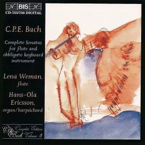 C.P.E. Bach - Complete Sonatas for flute and obligato keyboard instrument