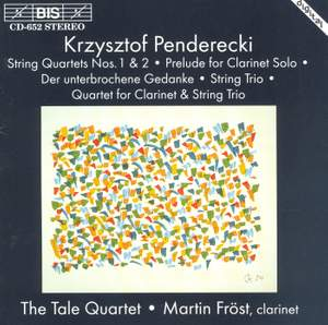 Penderecki: Works for Clarinet & Strings