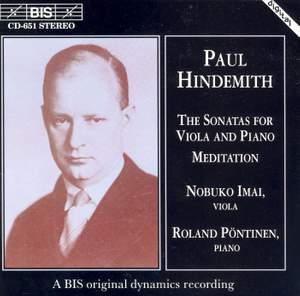 Hindemith - Viola Sonatas