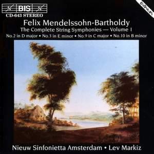 Mendelssohn - Complete String Symphonies, Volume 1 Product Image