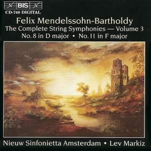 Mendelssohn - Complete String Symphonies, Volume 3 Product Image