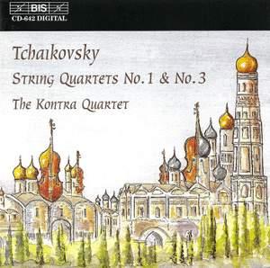 Tchaikovsky - String Quartets Nos. 1 & 3 Product Image