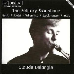 The Solitary Saxophone