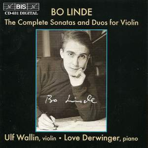Bo Linde - Complete Sonatas and Duos for Violin